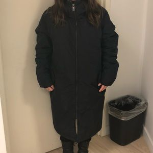 H&M Jackets & Coats - H&M Hooded Padded Oversized Coat